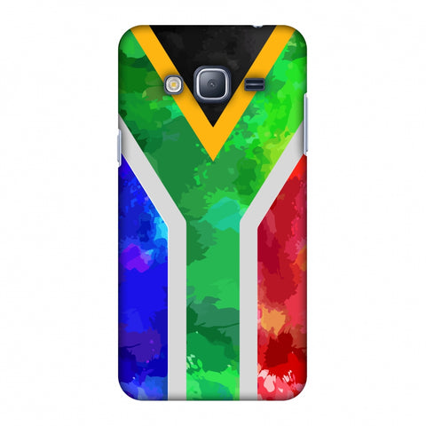 South Africa Flag - Textures Slim Hard Shell Case For Samsung GALAXY J3 2016