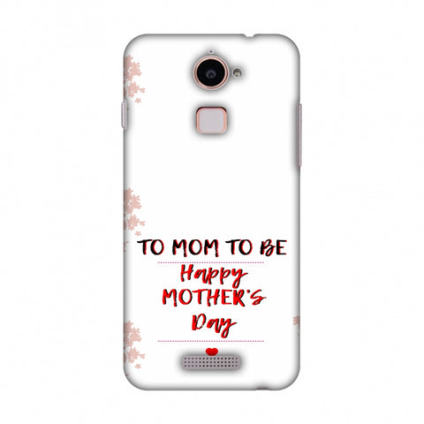 Mom To Be - Beige Slim Hard Shell Case For Coolpad Note 3 Lite