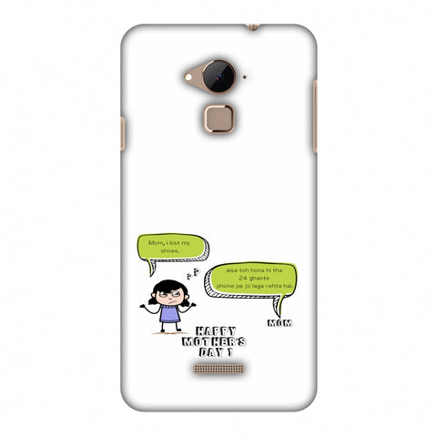 Mom, I Lost My Shoes - Girl - Beige Slim Hard Shell Case For Coolpad Note 3