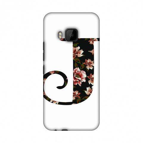 Floral Fill - J Slim Hard Shell Case For HTC One M9