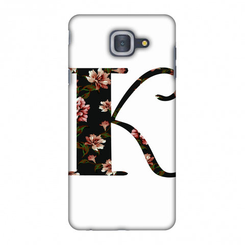 Floral Fill - K Slim Hard Shell Case For Samsung Galaxy On Max