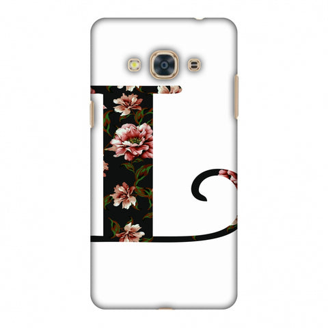 Floral Fill - L Slim Hard Shell Case For Samsung Galaxy J3 Pro