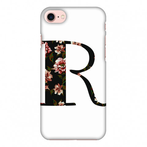 Floral Fill - R Slim Hard Shell Case For Apple iPhone 8