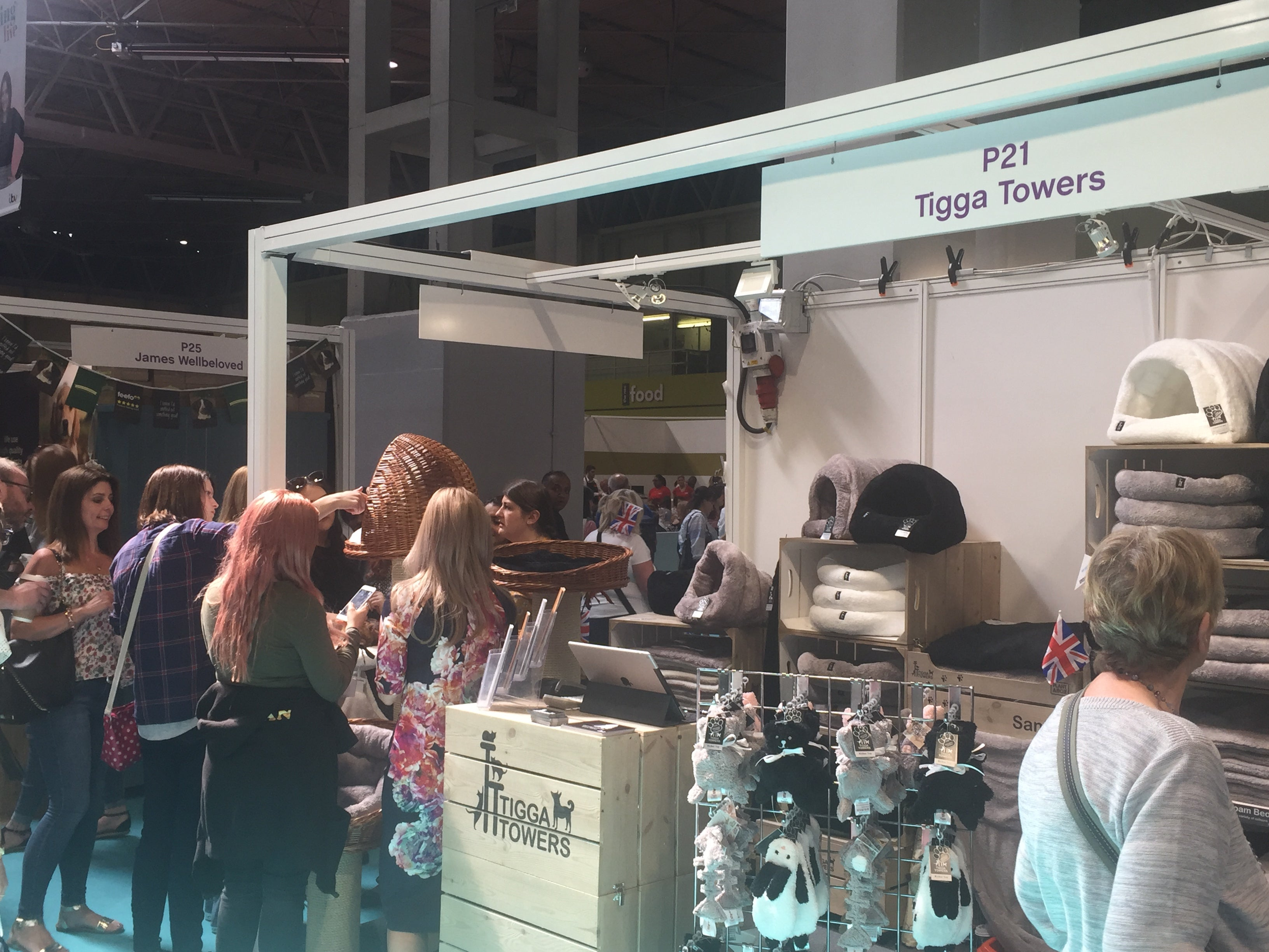 Busy Tigga Towers stand at This Morning Live