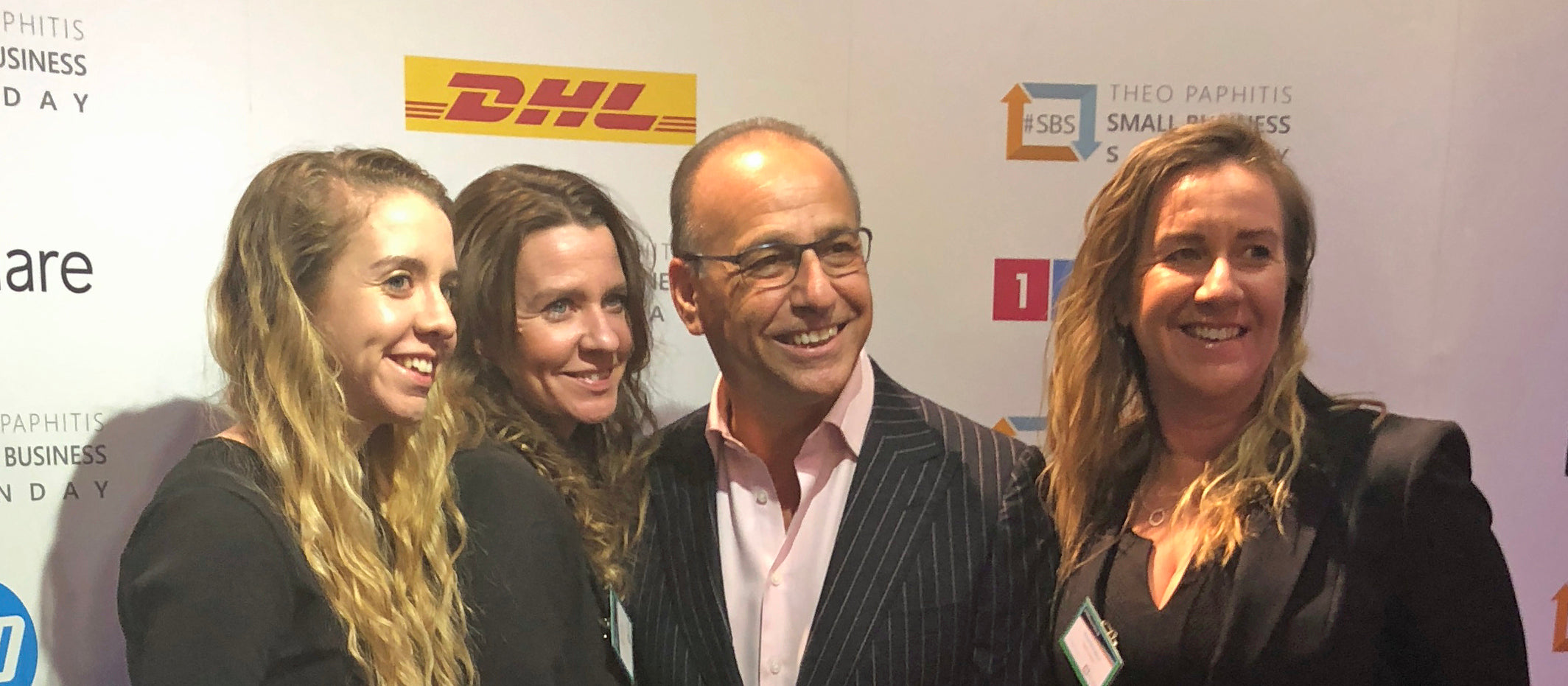 Tigga Towers Team picture with Theo Paphitis