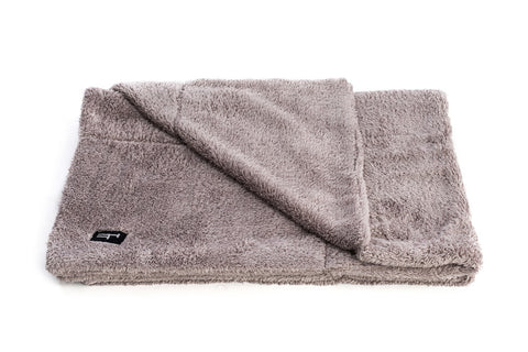 Grey Cat Bed Blanket for Large Cats or Kittens - Tigga Towers