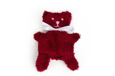 Raspberry Catnip Bear Toy - Tigga Towers