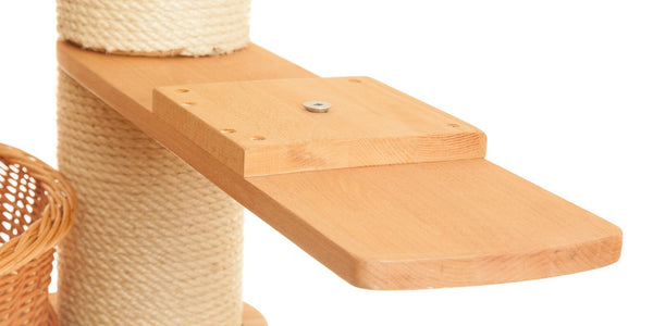 Cat tower oak wooden arm extension - Tigga Towers