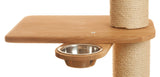 Wooden food bowl for cat tower - Tigga Towers