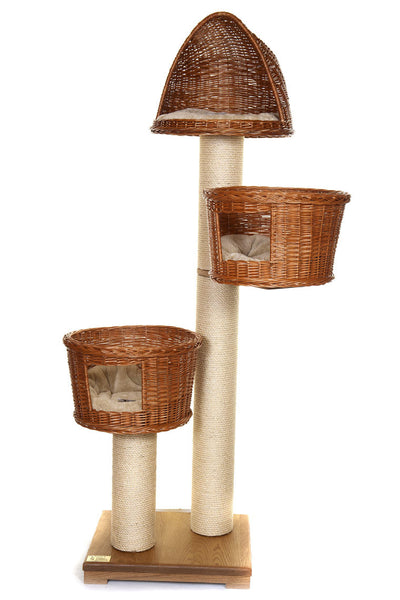 Luxury cat tower for large cats - Tgga Towers