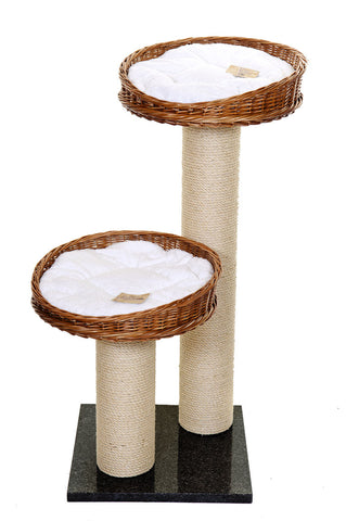 Luxury cat tower with bed - Tigga Towers