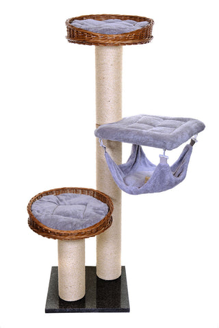Luxury modern cat activity tree - Tigga Towers