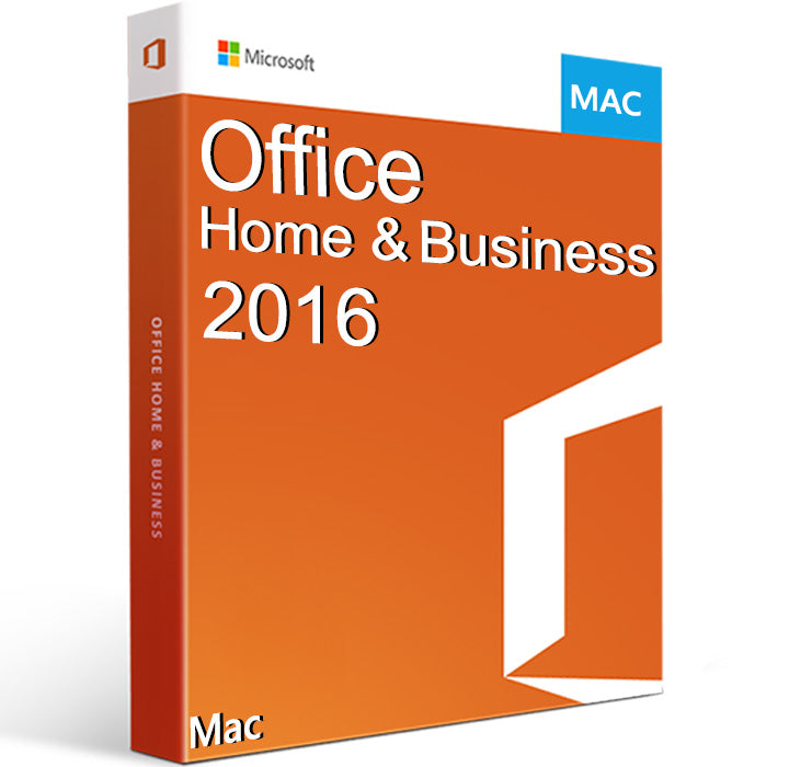 Microsoft Office Home and Business 2016 MAC EU