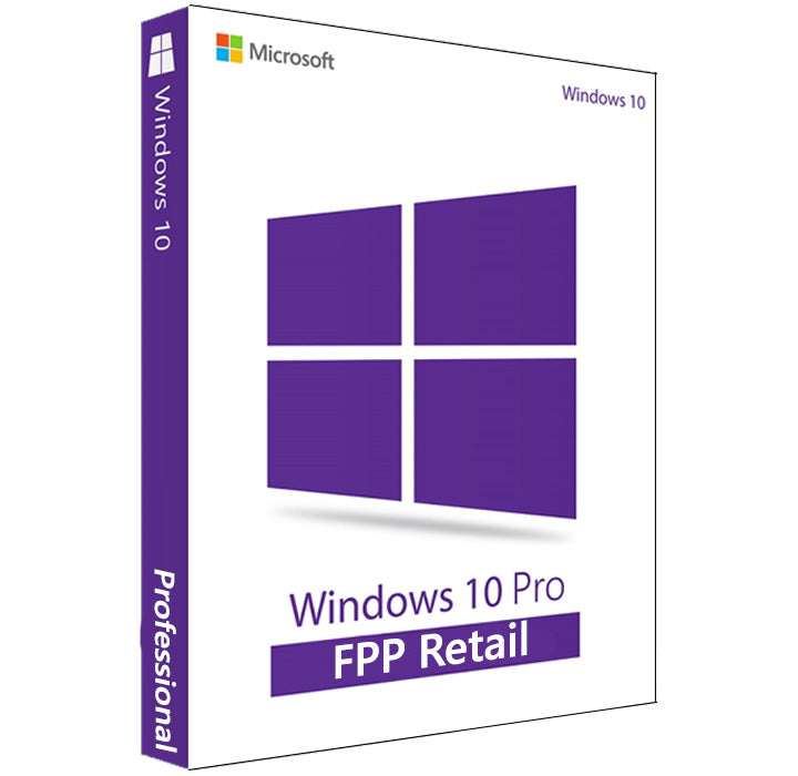 Microsoft Windows 10 PRO FPP RETAIL KEY
