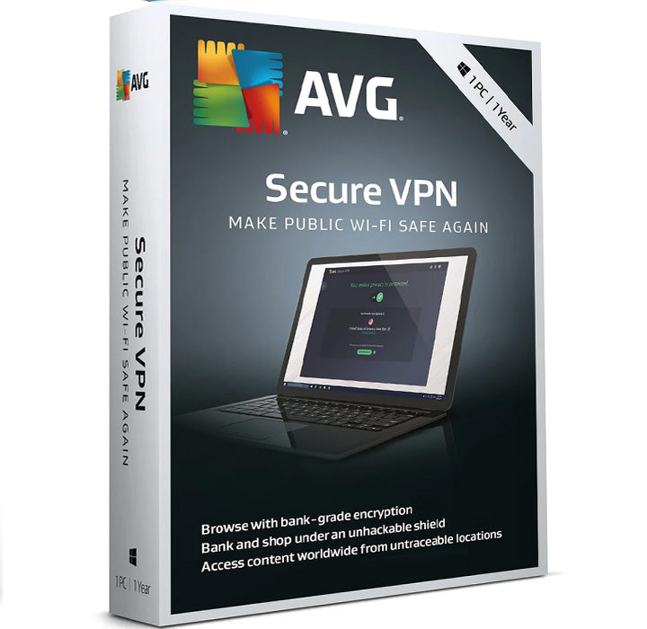 AVG Secure VPN 1-Device 1-Year