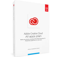 Adobe Creative Cloud Subscription All Apps 12 Months Windows&Mac Compatible