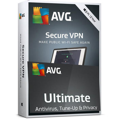 AVG Ultimate 2020 10 devices-MDevices + VPN 2-Years