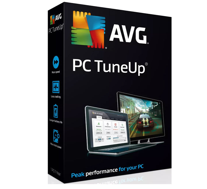 AVG TuneUp 2019 - Unlimited Devices (10 devices) 1 Year