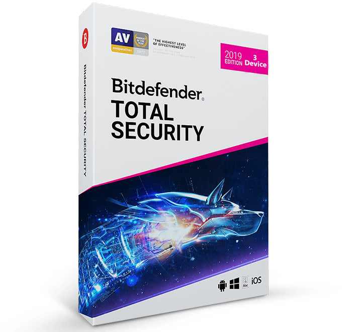 Bitdefender 2020 Total Security (3 PC -1 Year)