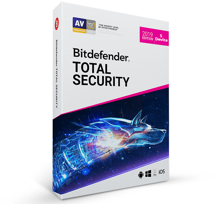 Bitdefender 2019 Total Security (5 PC -1 Year)