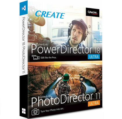 PowerDirector 18 Ultra & PhotoDirector 11 Ultra