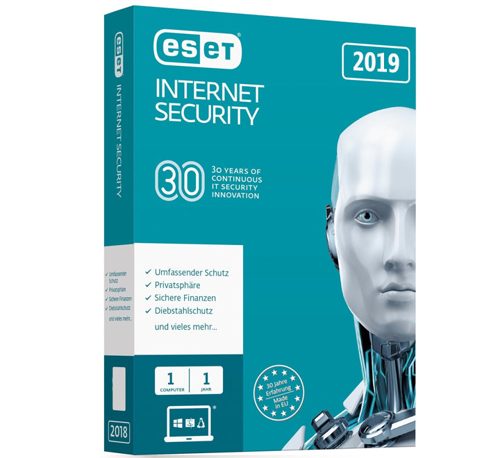 ESET Internet Security - 1 User 1 Year