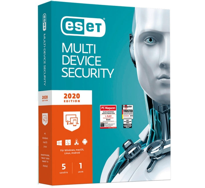 ESET MultiDevice security - 5 Device 1 Year