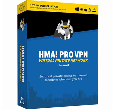 Avast Hide My Ass! Pro VPN Unlimited Devices 1year