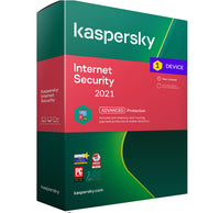 Kaspersky Internet security 2021 - 1 Device MD 1 Year EU