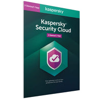Kaspersky Security Cloud  2021 - 3 Devices 1 Year EU