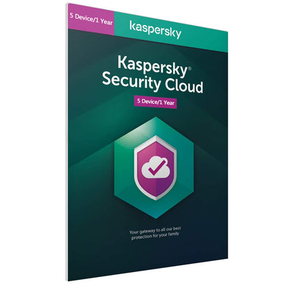 Kaspersky Security Cloud  2021 - 5 Devices 1 Year EU