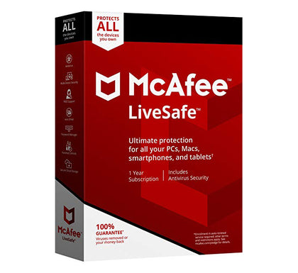 McAfee Live Safe 2019 Unlimited