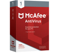 McAfee Antivirus 2020 - 1 Device 1 Year