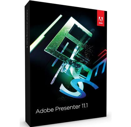 Adobe Presenter 11.1 Windows Only