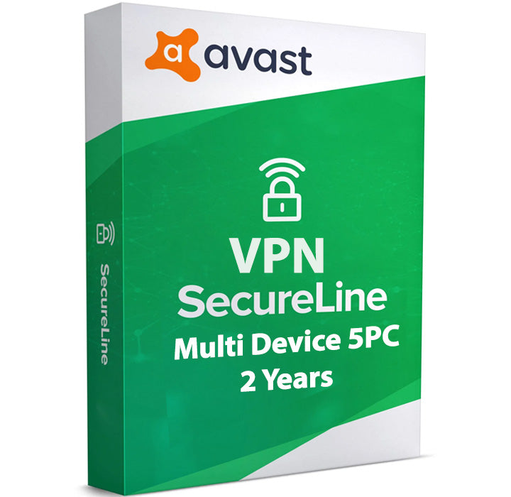 Avast SecureLine VPN 5-Device 2-Year