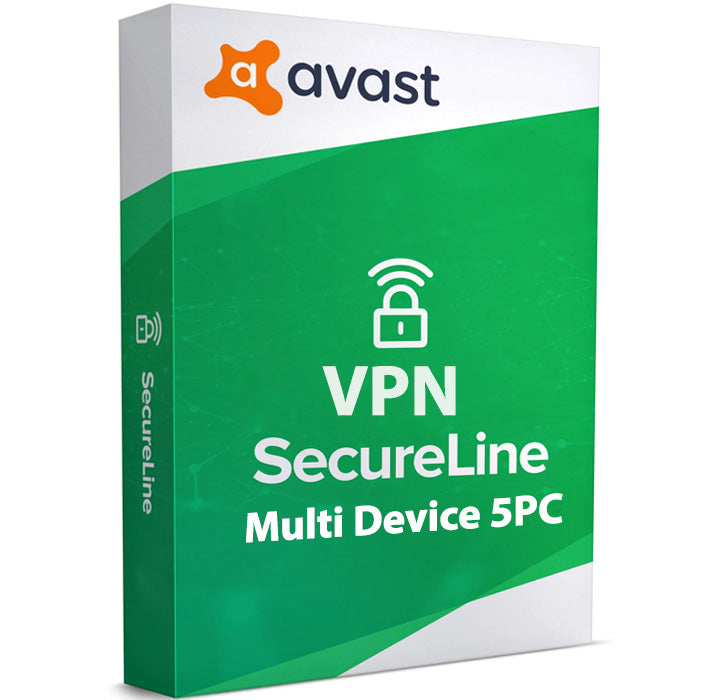 Avast SecureLine VPN 5-Device 1-Year