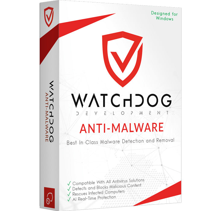 Watchdog Anti-Malware 1PC Lifetime License EURO Only