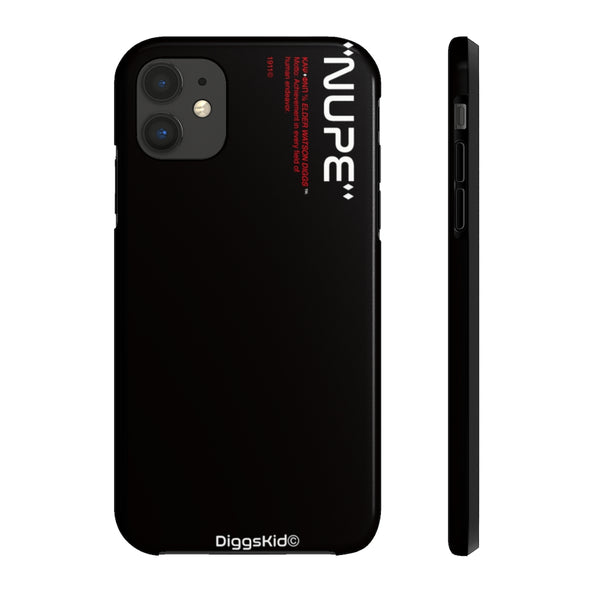 Kappa Alpha Psi Phone Case - Black (Tough)