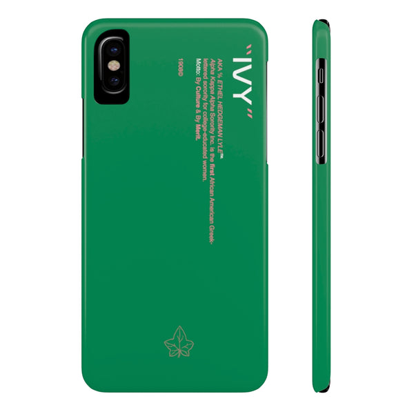 Alpha Kappa Alpha Phone Case - Green (Snap)