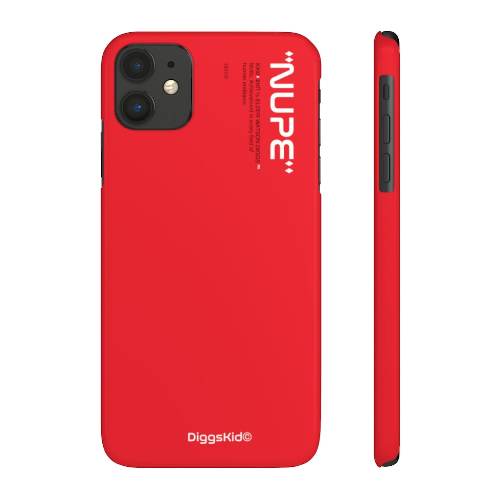 Kappa Alpha Psi Phone Case - Red (Snap)