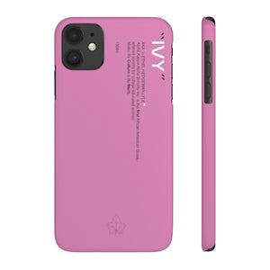 Alpha Kappa Alpha Phone Case - Pink (Snap)