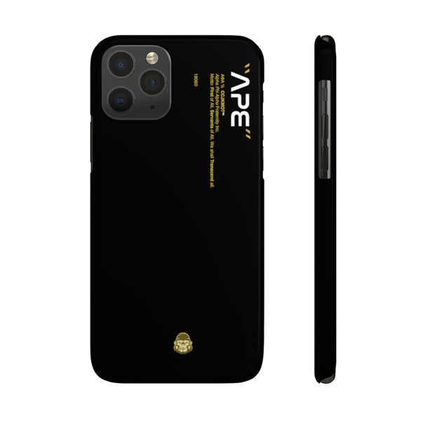 Alpha Phi Alpha Phone Case - Black (Snap)