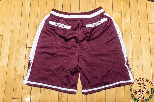 Crimson Summer Shorts