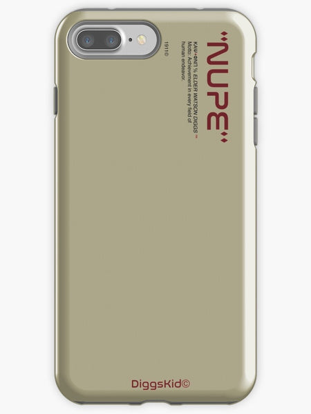 Kappa Alpha Psi Phone Case - Cream