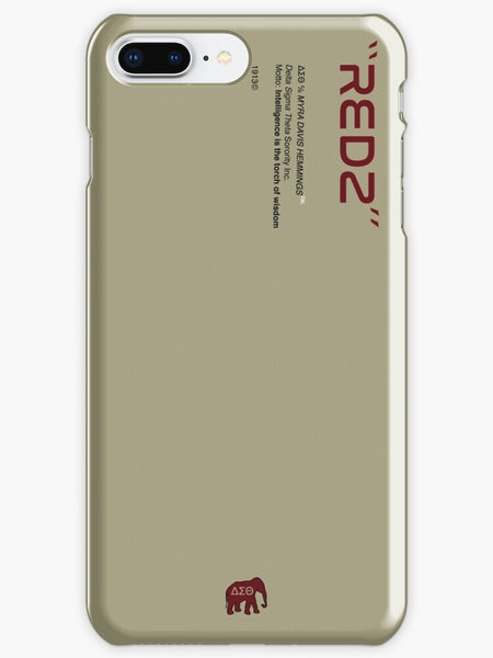 Delta Sigma Theta Phone Case - Cream