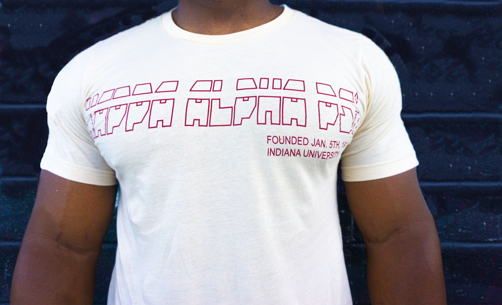 Kappa Alpha Psi Cream Tshirt
