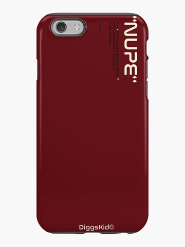 Kappa Alpha Psi Phone Case - Crimson