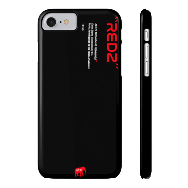Delta Sigma Theta Phone Case - Black (Snap)