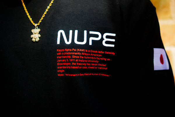 Kappa Alpha Psi - NASA Nupe Sweatshirt (Black)