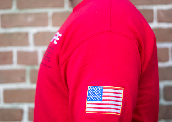 NASA Nupe Sweater (Red)